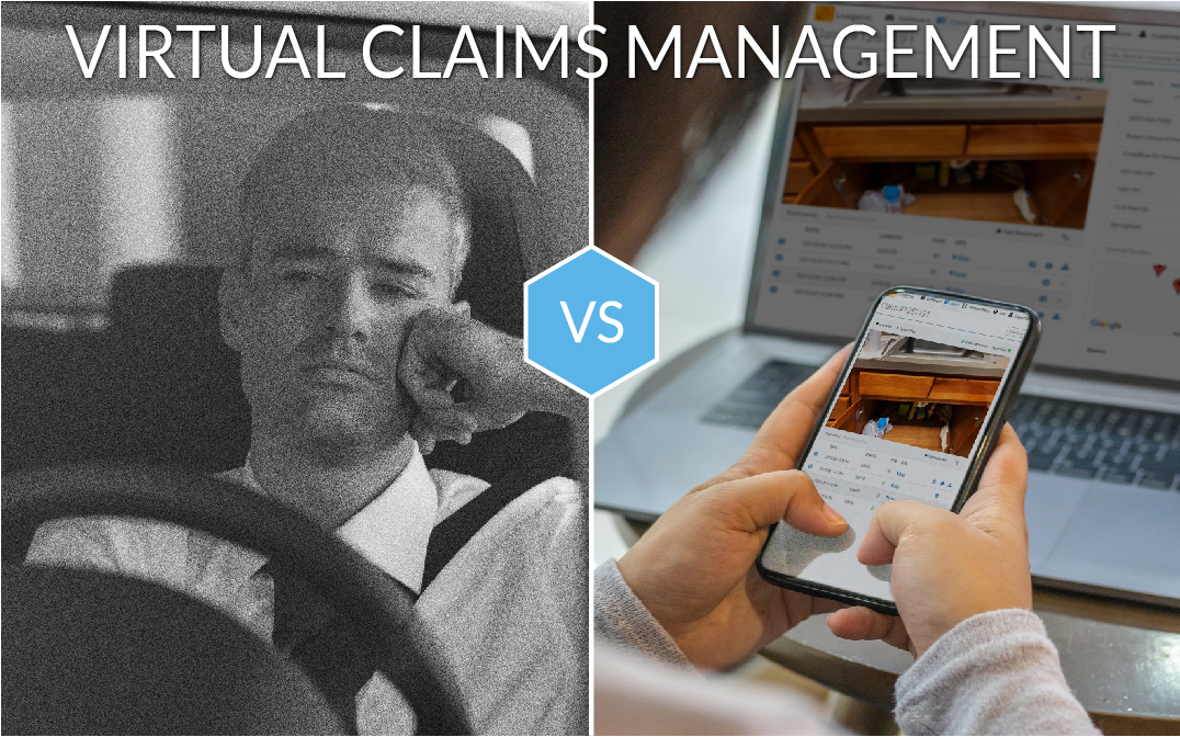 Virtual Claims Management graphic